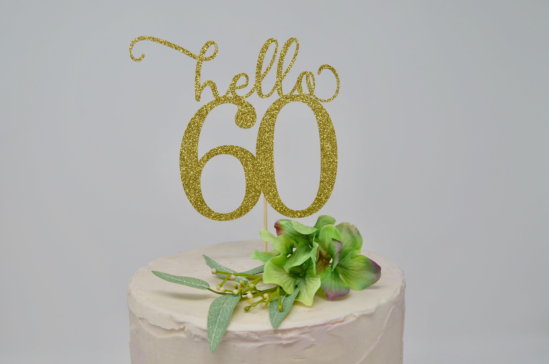 Admirable Birthday Cake Topper Custom Birthday Decorations Name Birthday Personalised Birthday Cards Veneteletsinfo