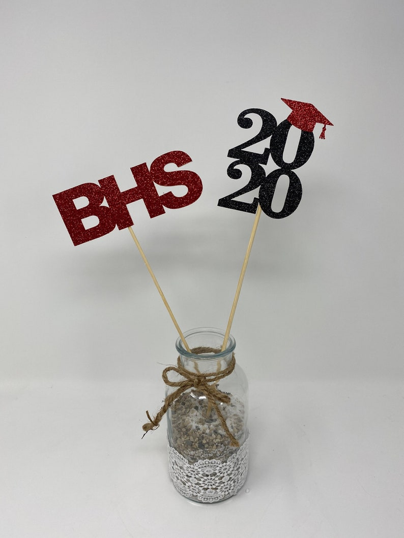 Graduation decorations 2021 Centerpiece Sticks class of | Etsy