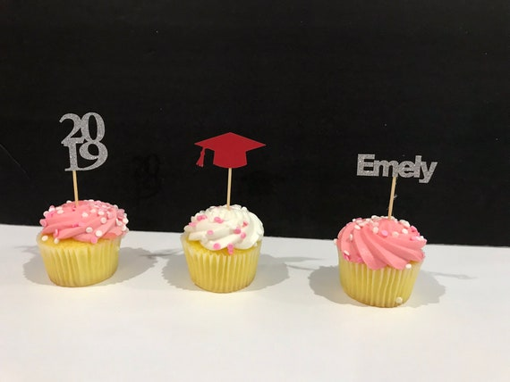 Graduation Party Decoartions 2019 Graduation Cupcake Toppers Graduation Cake Topper 2019 Cupcake Toppers Graduation Cupcake Decorations