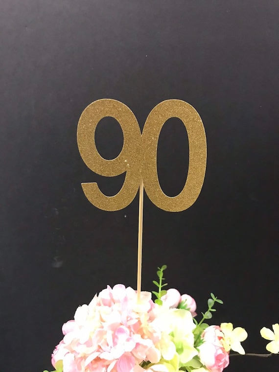 90th Birthday Party Decorations Centerpiece