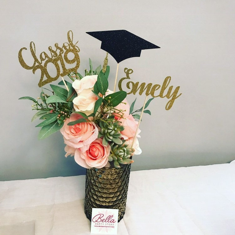 Graduation party decorations 2020 Graduation Centerpiece ...