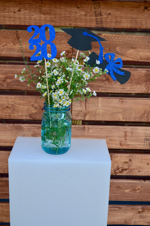 Graduation party decorations 2020, Graduation Centerpiece ...