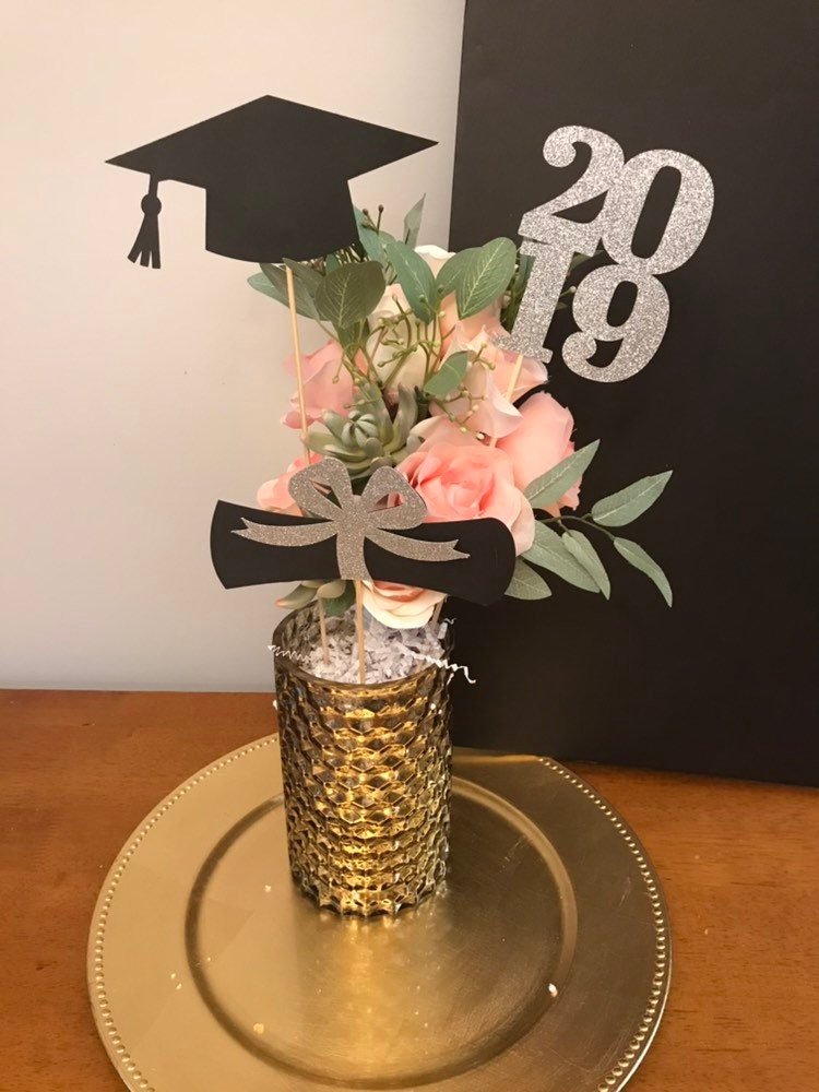 Rose Gold Graduation Party Decorations