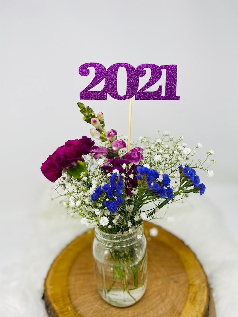 prom 2021 Cap Diploma Grad class of 2021 Graduation Decoration Graduation Centerpiece Sticks Graduation party decorations 2021