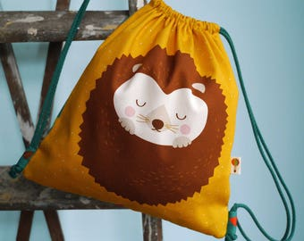 Turn bag / backpack HEDGEHOG bio