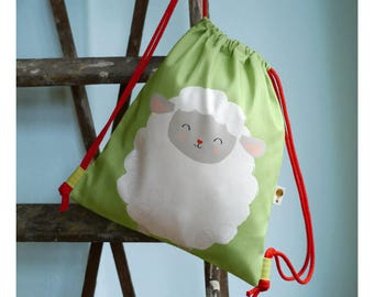 Turn bag / backpack sheep bio