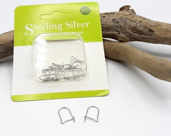 5 pairs of Silver Earring Silver Earring hooks 925 - A338 925-10
