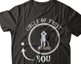 ec28fb7e Items similar to Siberian Husky Butt Shirt, Husky Owner Christmas ...