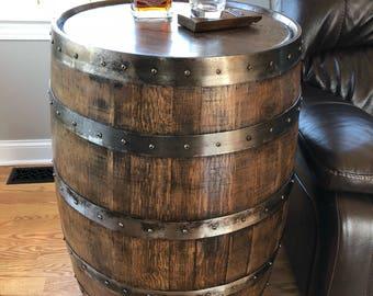 Whiskey Barrel Furniture Etsy