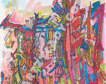 Safari - Abstract Art