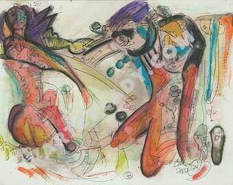 War - Abstract Art