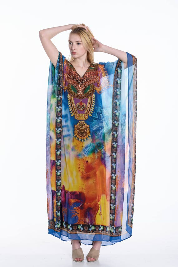 2e4017867495 Moroccan kaftan caftan kaftan dress plus size dress beach