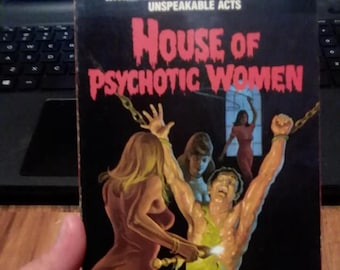 house of psychotic women vhs// aka blue eyes of the broken doll//spain//vintage horror//1974//cult films//rare