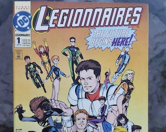 legionnaires comic issue 1//dc comics//1993//very fine condition