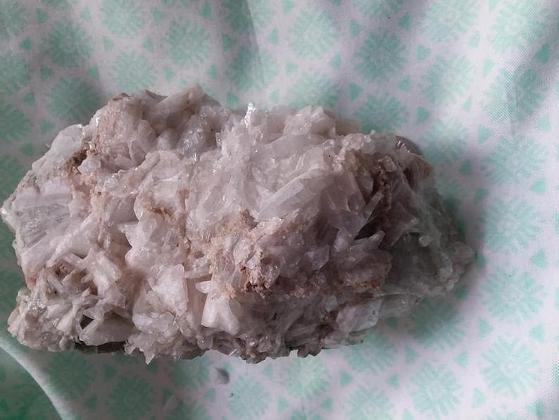 large rough celestite cluster5 in x 3 in x 2 in1 lb 3 ozohio celestitewhite and blue celestitecelestine