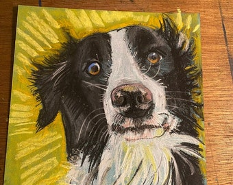 Custom Pet Art - Pen & Ink, Pastel