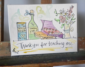 Thank you for teaching me illustration