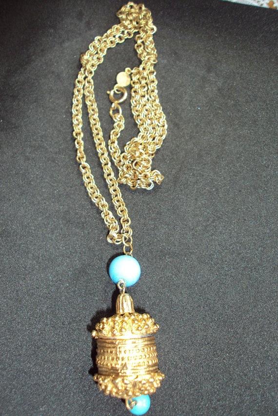 Vintage  silvertone  accessorycraft 52 necklace
