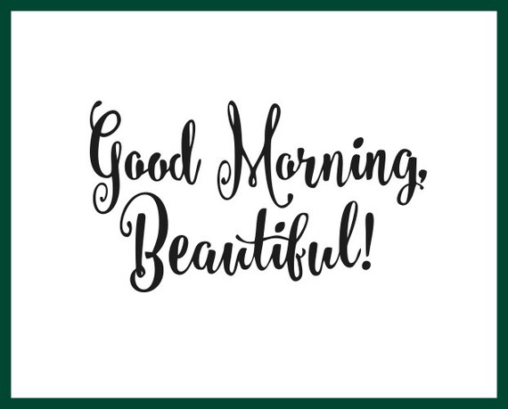 Guten Morgen Schöne Selbstwertgefühl Gewicht Management Positive Affirmation Spiegel Motivation Spiegel Aufkleber