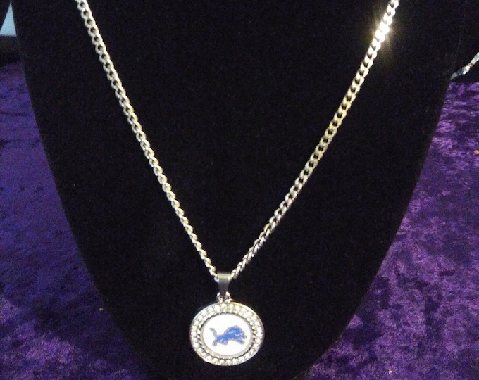 Men's Detroit Lions Necklace