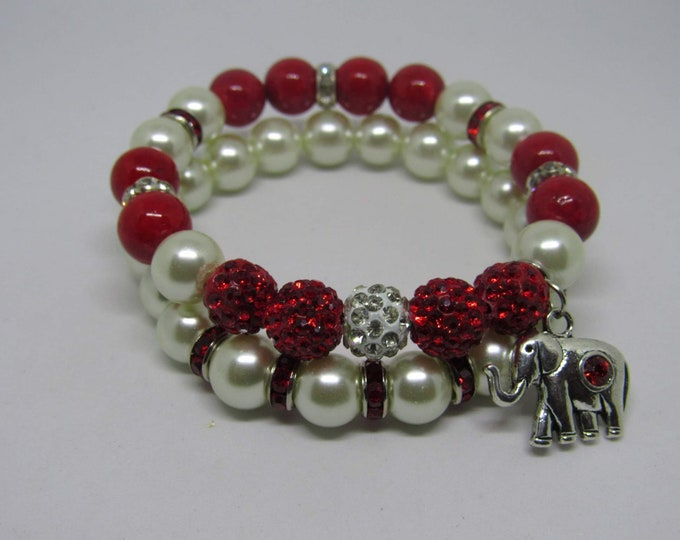 Ladies Delta Sigma Theta Sorority Bracelets