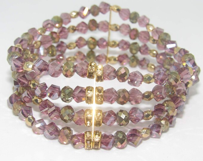 Ladies Glass Czech bracelets
