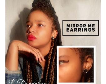 Mirror Me Earrings Studs
