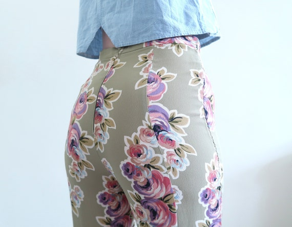 Vintage 90s 00s High Waisted Betsy Johnson Rayon F