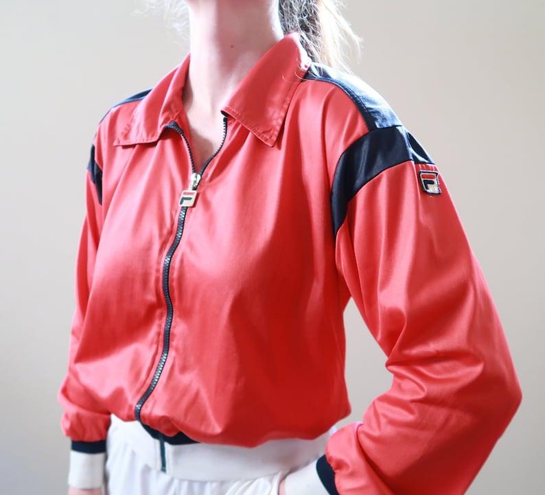2885c7d18b2b Vintage 80s Fila Tracksuit Jacket and Pants Excellent | Etsy