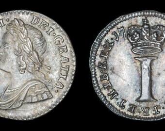 Alte Britische Münze Antike George Iii Kupfer Half Penny 1799 Etsy