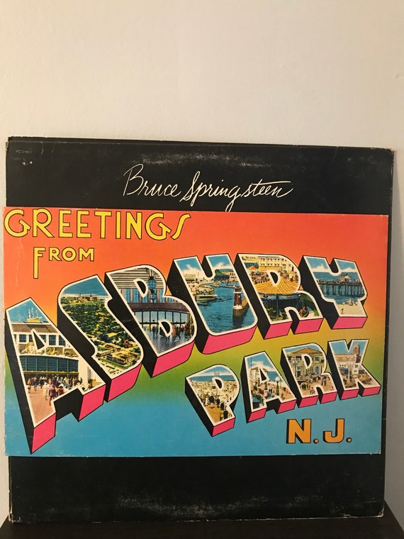 Bruce springsteen greetings from asbury park nj etsy image 0 m4hsunfo