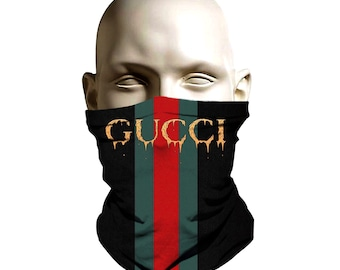 26a367f6ccc8 Gucci Drip design 3d Ski Mask face shield - Bikers mask