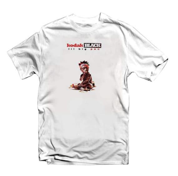 2e82a8d77 Men's Hip Hop Shirt Kodak Black Lil Big Pac urban   Etsy