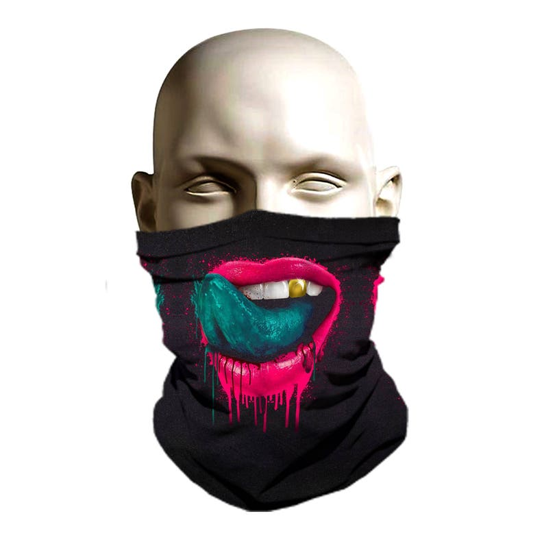 Sublimated Ski mask design facehuggerski gearbalaclava  07213cd25