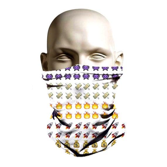 Emoji icono diseño de máscara de esquí facehugger esquí   Etsy