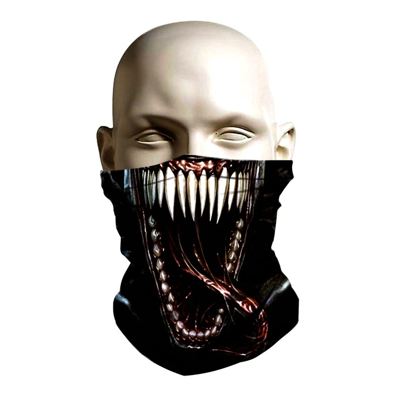 080268ed12c Venom Face 3d Ski Mask Bikers mask snow boarding mask
