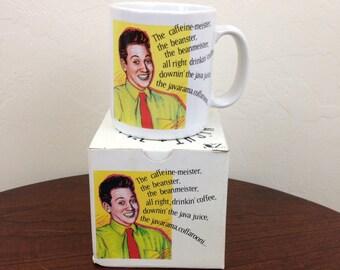 Vintage 90s SNL Caffine-Meister Rob Schneider - New in Box - Saturday Night Live