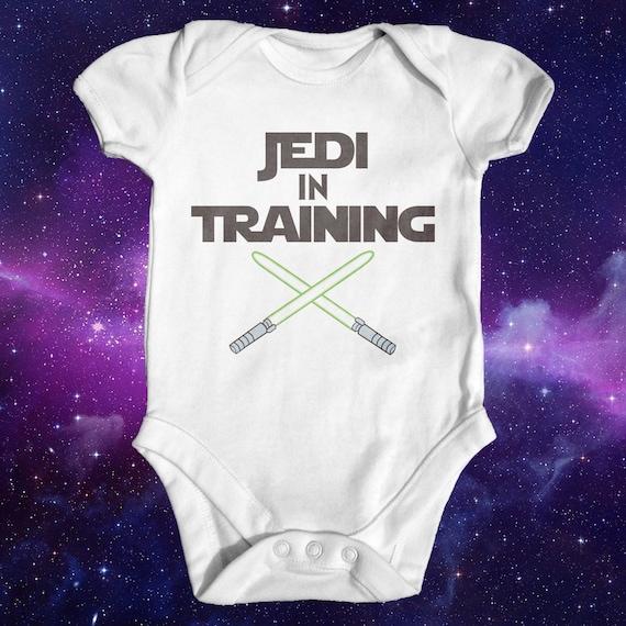 Star Wars Jedi en entrenamiento Body de bebé Body de bebé   Etsy