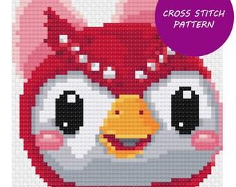 Celeste - Animal Crossing Cross Stitch Pattern