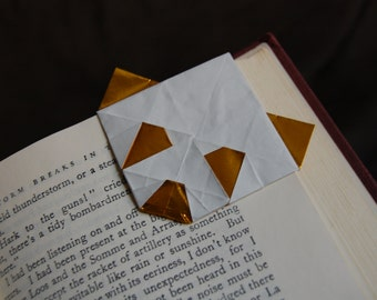 More Colors Origami Panda Corner Bookmark