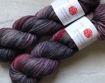 Hand Dyed Worsted Yarn