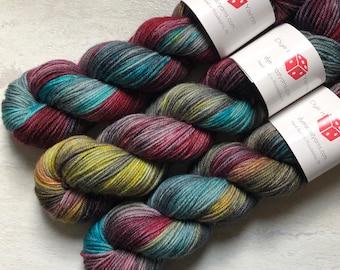 Hand Dyed DK Yarn