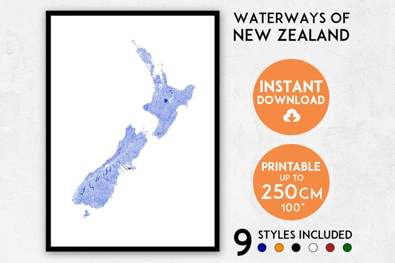 image relating to Printable Map of New Zealand referred to as Fresh Zealand map print, Contemporary Zealand map artwork, Clean Zealand print, Contemporary Zealand artwork, Clean Zealand poster, Fresh Zealand wall artwork, NZ map, NZ print