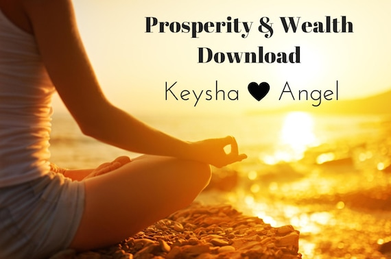Prosperity And Wealth Instant Download Spiritual Instant Etsy Interesting Download Spiritual Pics