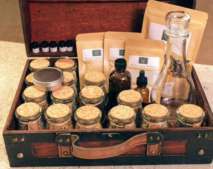 Featured listing image: Beginner Home Apothecary Kit