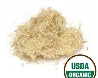 Slippery Elm Bark Organic, Cut and Sifted