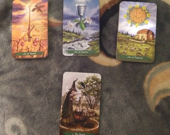 Three Card Reading, Tarot Reading, Yes or No Reading, One Question, Follow Up, Metaphysical, Divination, Wicca, Witchcraft, Pagan, Tarot