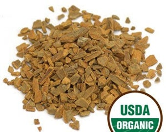 Cinnamon Chips Organic Cassia Bark, Kitchen Witch Herb for Medicine and Magic, Dried Herb for Home Apothecary Herbal Tea and Herbal Syrup