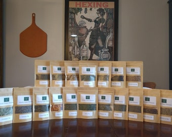 Herbalist Kit Choose 20 Herbal Sampler and Spice Collection