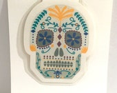 Day Of The Dead Magnet Bookmark , Sugar Skull , Books , Reading , Kids , Adults